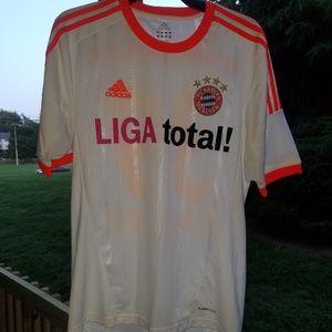 Adidas Bayern munchen Liga total kroos Jersey